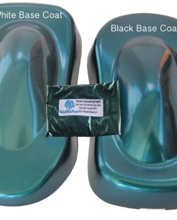 Teal Nightshade on Speed Shape with a bag