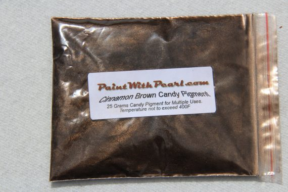 25 Gram Bag of Cinnamon Brown Candy Paint Pearl for Custom Paint, Powder coat, or any other coatings.