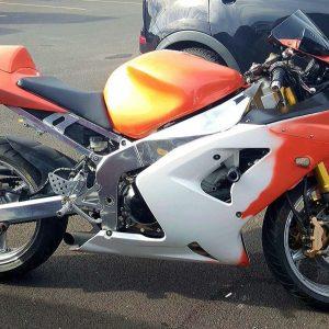 Orange Thermochromic Super Bike