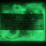 white-glows-green-night